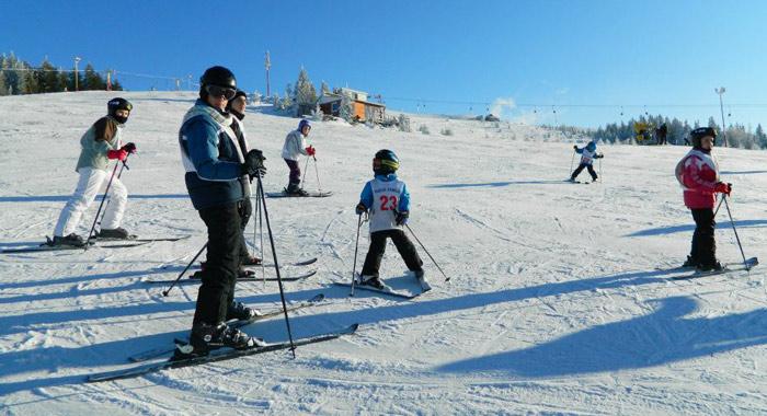 Tabara de ski Straja 2014