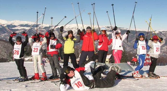 Tabere de ski pentru copii